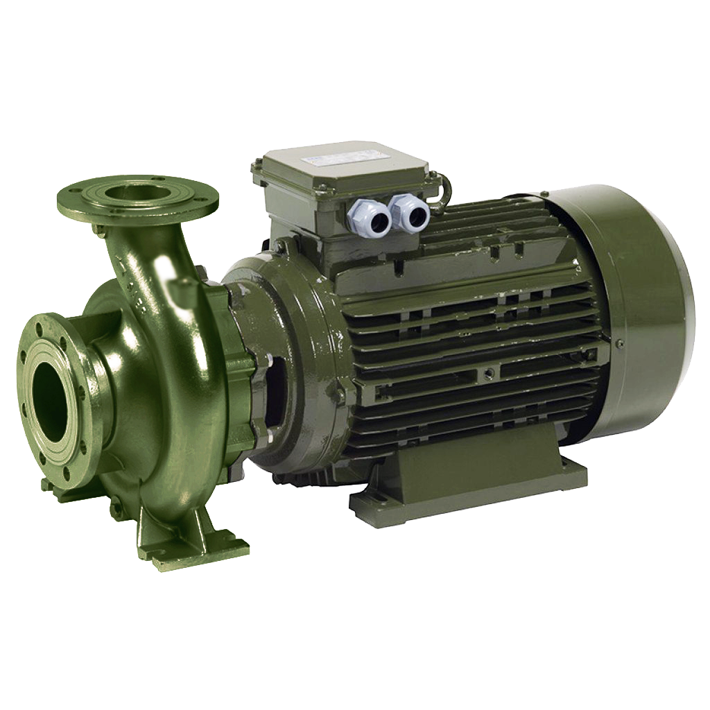 SAER-USA IR Single Stage Close-Coupled End Suction Water pump (MONOBLOCK) - cast iron