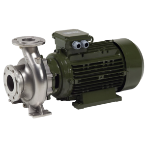 SAER Single Stage Close-Coupled End Suction Electric-pump (MONOBLOCK) - stainless steel