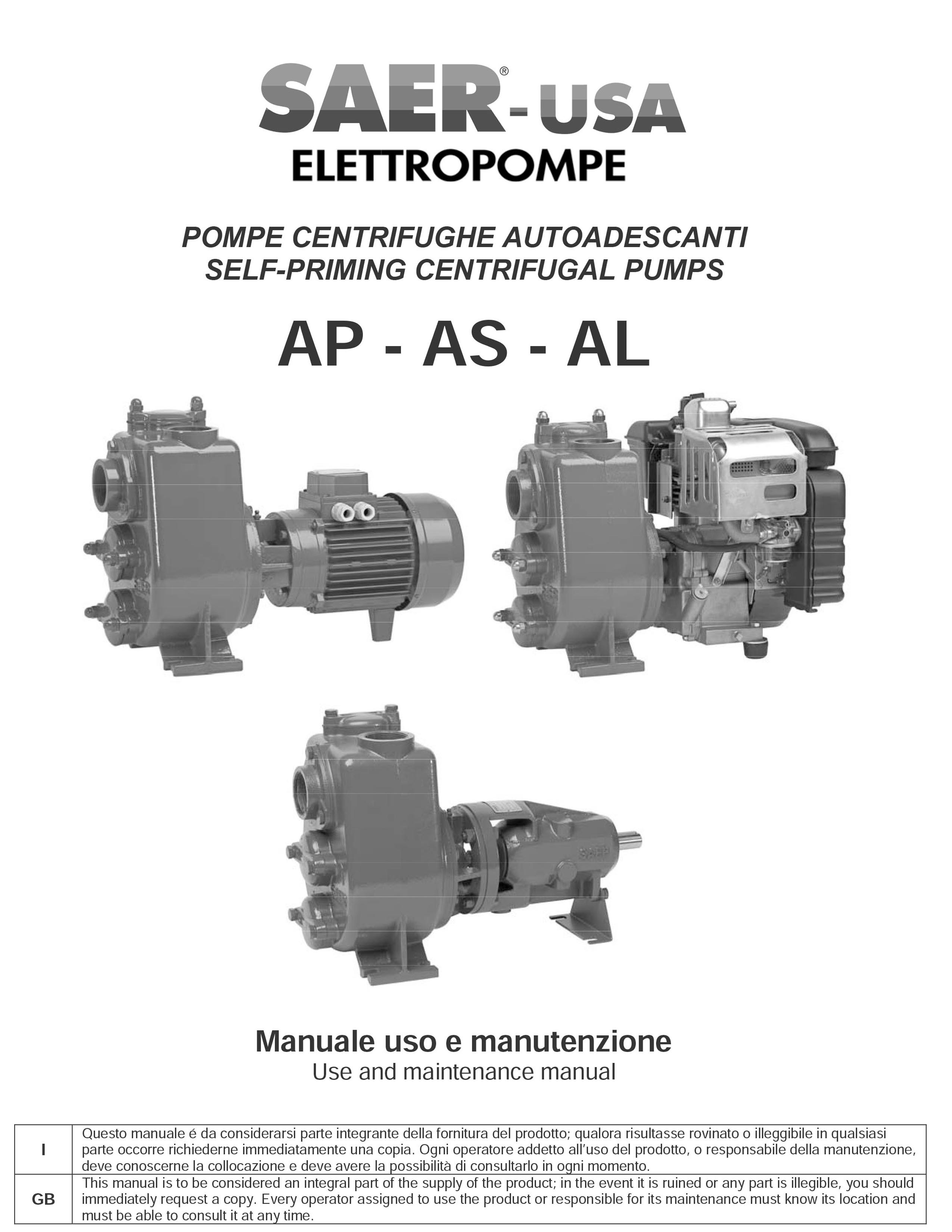 AP-AL SAER-USA water domestic pumps- water pumps in usa