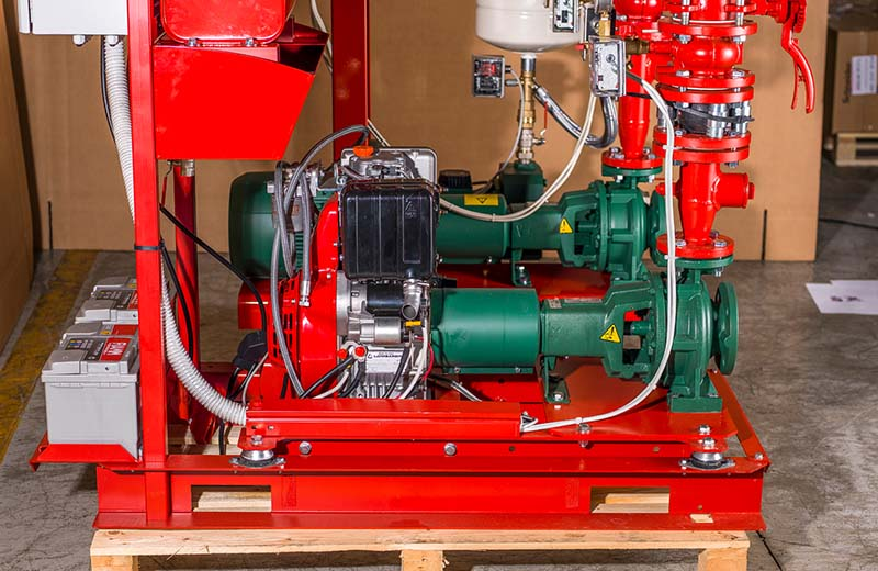 Fire fighting pumps 1