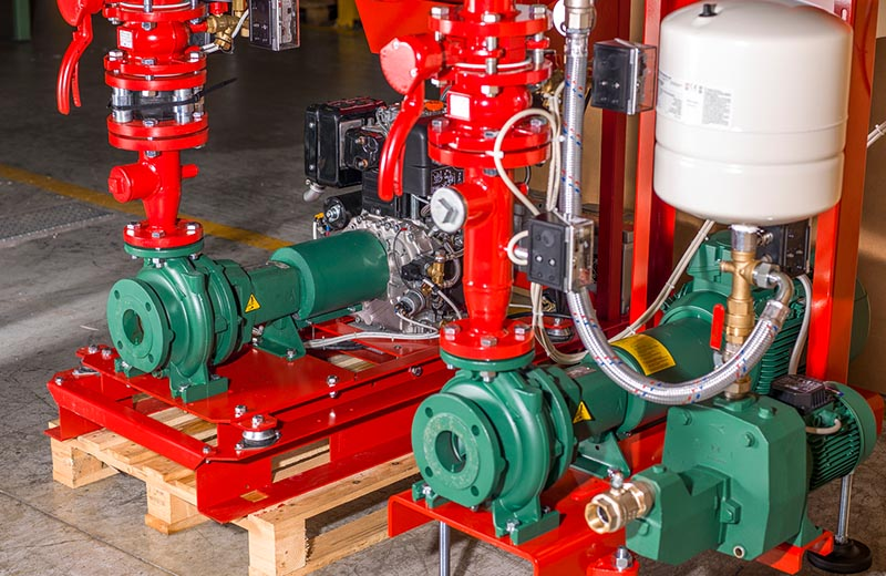 Fire fighting pumps 3