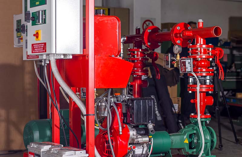 Fire fighting pumps 4
