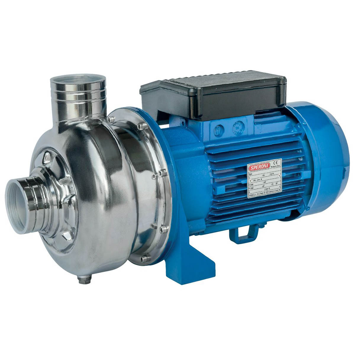 SPERONI WXM300-A/WX300-A, Open Impeller Centrifugal Water Pump
