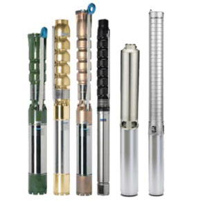 Submersible Pumps With Motors